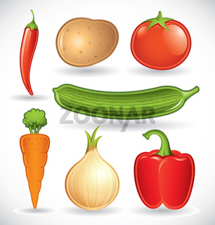 Mixed vegetables - set 1