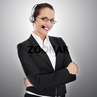 Call centre employee