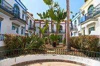 Beautiful houses in Puerto de Mogan