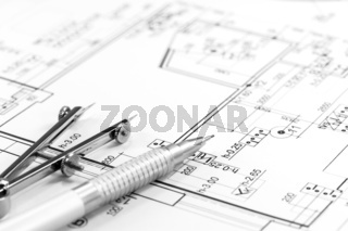 Architect plan and tools