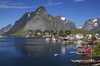 Town of Reine on Lofoten