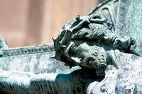 Jesus Vyšehrad Cemetary Prague
