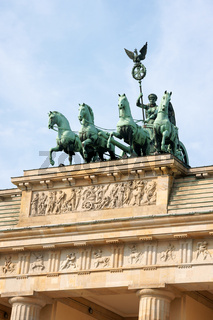 Brandenburg Gate and Quadriga
