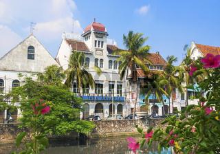 dutch colonial buildings in jakarta indonesia