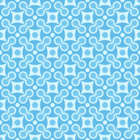 Simple seamless geometric blue pattern