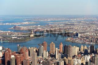 Luftaufnahme New York City (USA)