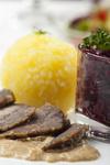 Rheinischer Sauerbraten - mariniertes Rindfleisch