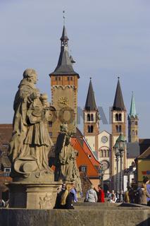 Mainbrücke in Würzburg