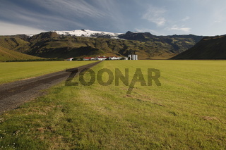 Þorvaldseyri (Thorvaldseyri) - the nearest farm to the Eyjafjallajökull volcano