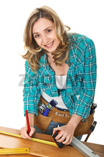 woman carpenter