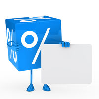 Blue sale cube
