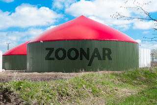 Biogasanlage - Biogas