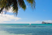 sails at Cap Malheureux - Mauritius