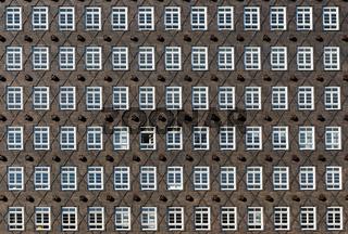 Historische Fassade in Hamburg
