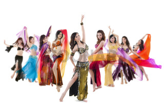 Belly dance troupe