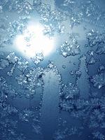 frosty natural pattern