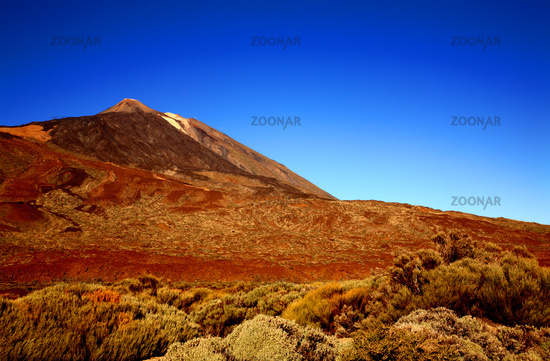 Volcano Teide, Island Tenerife, Canary Islands