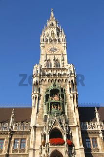 The Rathaus of Munich
