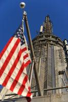 peak of empire state building, Manhattan New York