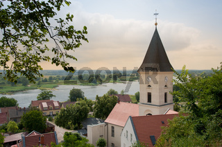 Die Stadt Lebus an der Oder, Land Brandenburg
