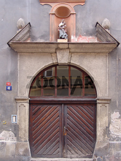 Portal in Eger (Cheb)