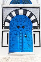 Ornamental Blue Door.