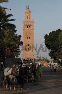 Koutoubia Minaret. Marrakesh