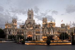 Cibeles square, Madrid, Spain