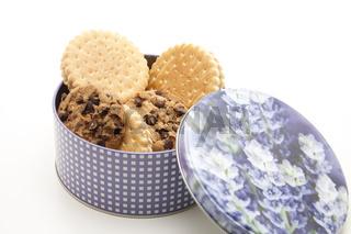 Kekse in der Dose