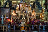 Laotischer Buddhisten Schrein