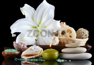 Set for massage and a peeling - SPA-procedures