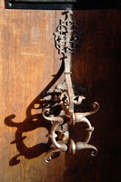 handgrip, Bamberg Old Town Hall door