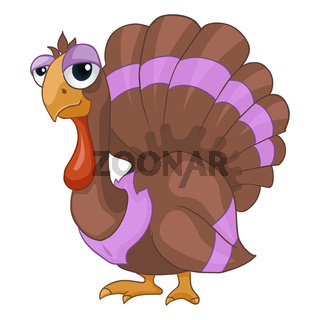 Cartoon Character Turkey