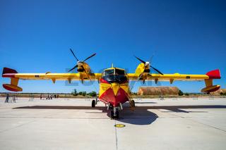 Seaplane Canadair CL-215