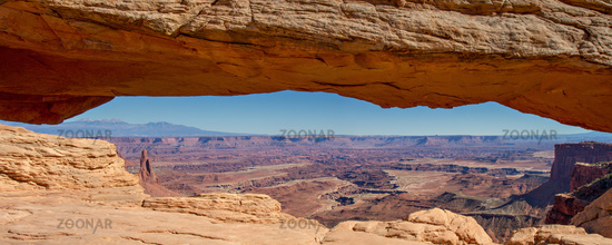 Panorama of Mesa Arch