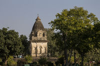 Parvati Mandir in Western Group of Temples in Khajuraho