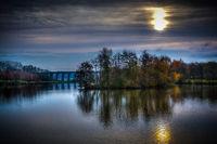 Autumn Lake at Sunrise
