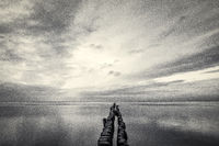 Horizon over the Sea
