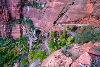 Zion Canyon Switchback Trail