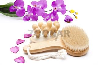 Massagebürste und Rückenbürste