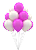Ballons for party, birthday