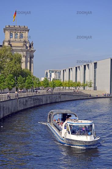 Private, stadtführung : Regierungsviertel mit Reichstagskuppel