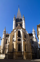 A Church In Dijon City