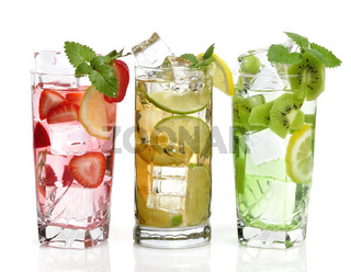 cold Drinks With Fruits