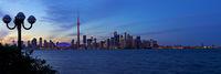Nightly Toronto Panorama