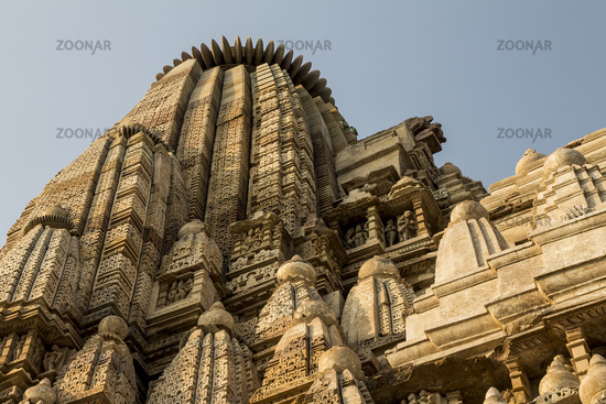 Parsvanath Temple of the Jain Temples complex in Khajuraho