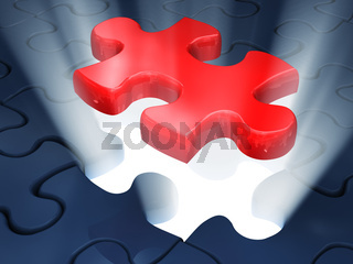 jigsaw piece of puzzle
