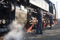 Maintaining A German Steam Engine