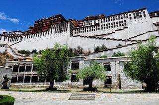 Potala-Palast Lhasa Tibet - auf dem Berg