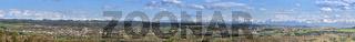 Oberschwaben mit Alpenpanorama